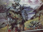 Lovis Corinth Walchensee Landscape oil painting reproduction