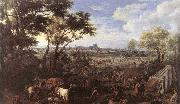MEULEN, Adam Frans van der The Army of Louis XIV in front of Tournai in 1667 oil painting artist