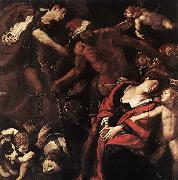 MORAZZONE Piedmont Martyrdom of Sts Seconda and Rufina oil painting picture wholesale