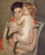 Mary Cassatt The girl holding the baby oil painting picture wholesale