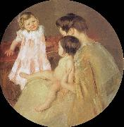 Mary Cassatt Mother and children oil painting picture wholesale