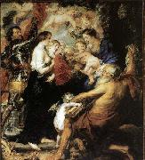 Peter Paul Rubens Our Lady with the Saints oil painting picture wholesale