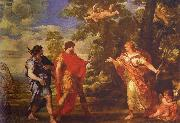 Pietro da Cortona Venus as Huntress Appears to Aeneas oil painting picture wholesale