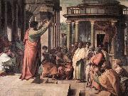 RAFFAELLO Sanzio St Paul Preaching in Athens oil painting picture wholesale