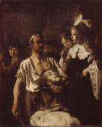 REMBRANDT Harmenszoon van Rijn The Beheading of John the Baptist oil painting picture wholesale