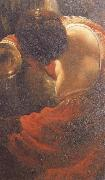 Rembrandt van rijn Detail of write on the wall oil painting picture wholesale