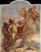 TIEPOLO, Giovanni Domenico Venus Appearing to Aeneas on the Shores of Carthage oil painting picture wholesale