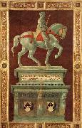 UCCELLO, Paolo Funerary Monument to Sir John Hawkwood oil painting picture wholesale
