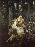 Viktor Vasnetsov Ivan the Tsarevich Riding the Grey Wolf oil painting picture wholesale
