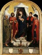 WEYDEN, Rogier van der Virgin with the Child and Four Saints oil painting picture wholesale