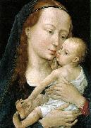 WEYDEN, Rogier van der Virgin and Child after 1454 oil painting picture wholesale