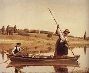 William Sidney Mount Fishing oil painting picture wholesale