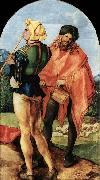 Albrecht Durer Two Musicians oil painting picture wholesale
