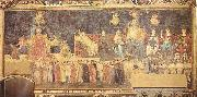 Ambrogio Lorenzetti Allegory of the Good Government oil painting picture wholesale