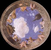 Andrea Mantegna Detail of Ceiling from the Camera degli Sposi oil painting picture wholesale