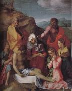Andrea del Sarto Dead Christ and Virgin mary oil painting picture wholesale
