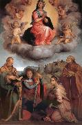 Andrea del Sarto Glory of Virgin Mary and four Christ oil painting picture wholesale