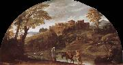 Annibale Carracci Escape to Egypt oil