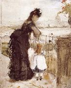 Berthe Morisot Balcony oil painting picture wholesale