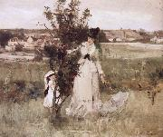 Berthe Morisot Hide and seek oil painting picture wholesale
