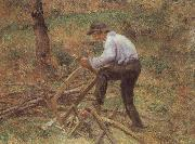 Camille Pissarro The Woodcutter oil painting picture wholesale