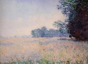 Claude Monet Oat Field oil painting reproduction