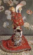 Claude Monet Madame Monet in Japanese Costume oil painting picture wholesale