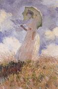 Claude Monet The Walk,Lady with Parasol oil painting picture wholesale