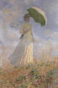 Claude Monet Layd with Parasol oil painting picture wholesale