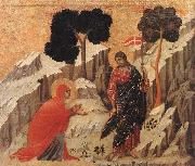 Duccio di Buoninsegna Appearence to Mary Magdalene oil painting picture wholesale
