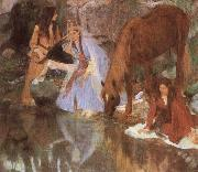 Edgar Degas Mlle Eugenie Fiocre in the Ballet oil painting picture wholesale