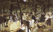 Edouard Manet Music at the Tuileries oil painting picture wholesale