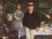 Edouard Manet Luncheon in the studio oil painting picture wholesale
