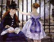 Edouard Manet Gare Saint-Lazare oil painting picture wholesale