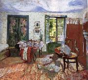 Edouard Vuillard Annette in the Bedroom oil painting artist