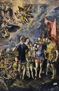 El Greco The Martyrdom of St Maurice oil painting picture wholesale