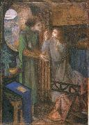 Elizabeth Siddal Clerk Saunders oil painting picture wholesale