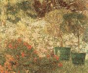 Emile Claus A Corner of my Garden oil