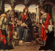 Fra Filippo Lippi Madonna with Child and Saints oil painting picture wholesale
