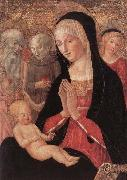 Francesco di Giorgio Martini Madonna and Child with Saints and Angels oil painting picture wholesale