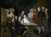 Francisco de Goya The Family of the Infante Don Luis oil painting picture wholesale