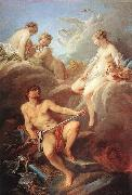 Francois Boucher Venus Demanding Arms from Vulcan for Aeneas oil painting picture wholesale