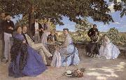 Frederic Bazille Family Reunion oil painting picture wholesale
