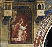GIOTTO di Bondone The Angel Gabriel Sent by God oil painting picture wholesale