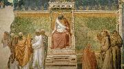 GIOTTO di Bondone St Francis before the Sultan oil painting picture wholesale