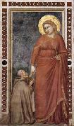 GIOTTO di Bondone Mary Magdalene and Cardinal Pontano oil painting picture wholesale