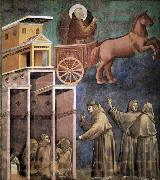 GIOTTO di Bondone Vision of the Flaming Chariot oil painting picture wholesale