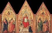 GIOTTO di Bondone The Stefaneschi Triptych oil painting picture wholesale