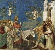 GIOTTO di Bondone Entry into Jerusalem oil painting picture wholesale