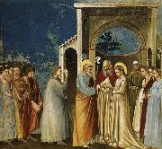 GIOTTO di Bondone Marriage of the Virgin oil painting picture wholesale